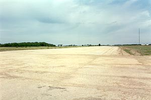 Membury's main runway looking north during the summer of 1996