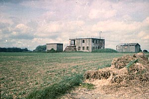 Membury's control tower photographed by Joe Thompson in 1964